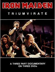 Iron Maiden. Triumvirate (3 DVD) - DVD