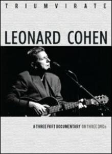 Leonard Cohen. Triumvirate (3 DVD) - DVD