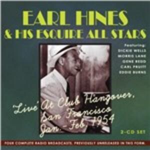 CD Live at Club Hangover Earl Fatha Hines