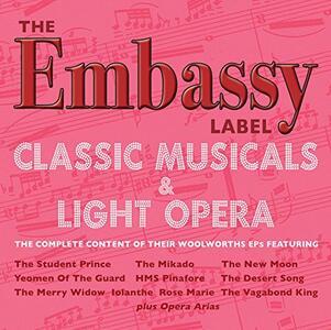 Embassy Label - CD Audio