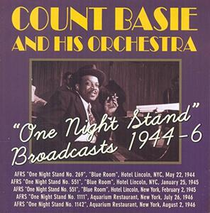 One Night Stand.. - CD Audio di Count Basie