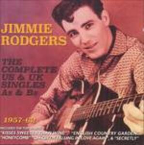 Complete Us & Uk Hits - CD Audio di Jimmie Rodgers