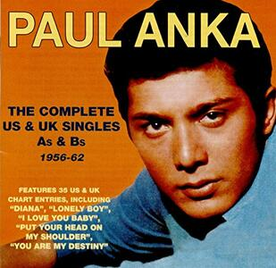 Complete Us & Uk.. - CD Audio di Paul Anka