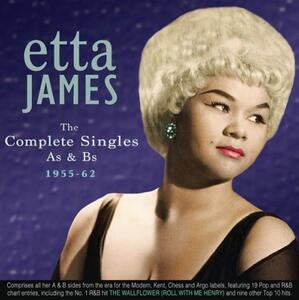 Complete Singles As & Bs 1955-1962 - CD Audio di Etta James