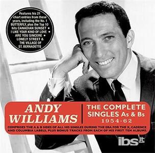 Complete Singles A's & - CD Audio di Andy Williams