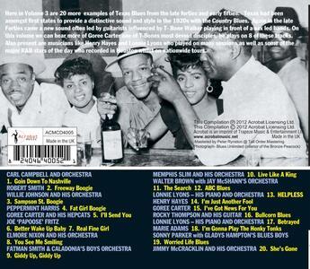Texas Blues vol.3 - CD Audio - 2