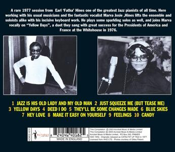 Jazz Is His Old Lady & my - CD Audio di Earl Hines - 2