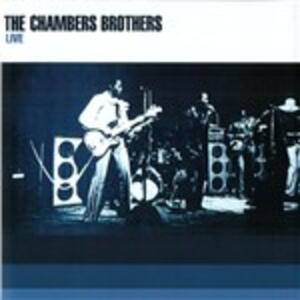 Live - CD Audio di Chambers Brothers