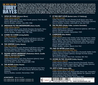 Very Best of - CD Audio di Tubby Hayes - 2