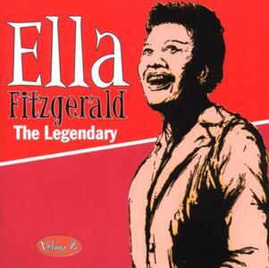 The Legendary Volume 2 - CD Audio di Ella Fitzgerald