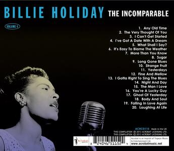 The Incomparable vol.4 - CD Audio di Billie Holiday - 2