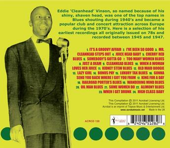 Cleanhead Blues - CD Audio di Eddie Cleanhead Vinson - 2