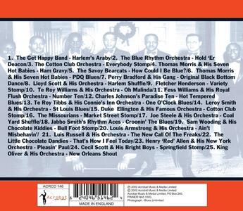 Harlem Jazz. The 20's - CD Audio - 2