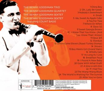 Small Band Recordings 1936-1944 - CD Audio di Benny Goodman - 2