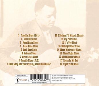 Hard Time Blues - CD Audio di Scrapper Blackwell - 2