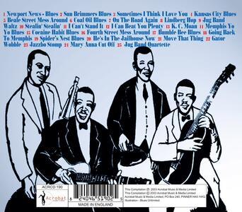 He's in the Jailhouse Now - CD Audio di Memphis Jug Band - 2