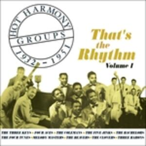 Hot Harmony Groups vol.1 - CD Audio