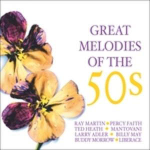 Great Melodies of the 50 - CD Audio