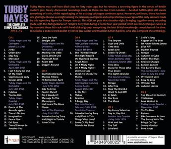 The Complete Tempo Recordings 1955 59 - CD Audio di Tubby Hayes - 2