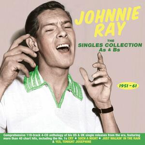 Singles Collection - CD Audio di Johnnie Ray