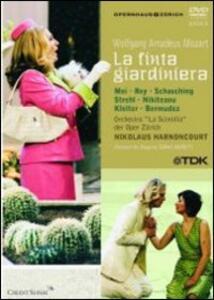Wolfgang Amadeus Mozart. La finta giardiniera (2 DVD) di Tobias Moretti - DVD