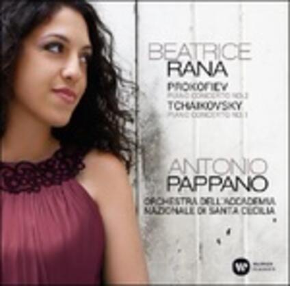 Concerti per pianoforte - CD Audio di Sergej Sergeevic Prokofiev,Pyotr Ilyich Tchaikovsky,Antonio Pappano,Orchestra dell'Accademia di Santa Cecilia,Beatrice Rana