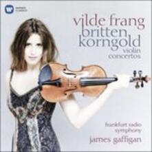 Concerti per violino - CD Audio di Benjamin Britten,Erich Wolfgang Korngold,Radio Symphony Orchestra Francoforte,Vilde Frang