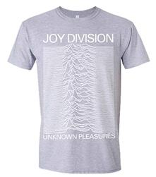 T-Shirt Unisex Joy Division. Unknown Pleasures (Grey)