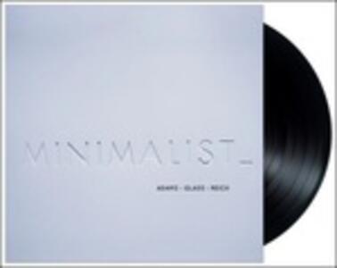 Vinile Minimalist Philip Glass John Adams Steve Reich