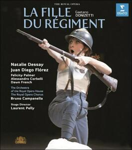 Gaetano Donizetti. La fille du Régiment. La figlia del reggimento - Blu-ray