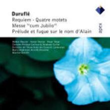 Requiem - 4 Mottetti - Messa Cum Jubilo - Preludio e fuga sul nome di Alain - CD Audio di Maurice Duruflé