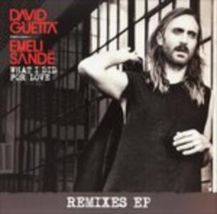 What I Did for Love - Vinile LP di David Guetta