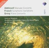 CD Concerto di Varsavia / Variazioni sinfoniche / Concerto per pianoforte Edvard Grieg César Franck Richard Addinsell