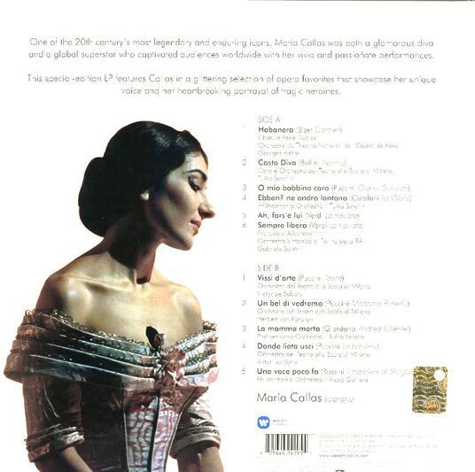 Maria Callas Remastered (Callas 2014 Edition) - Vinile LP di Maria Callas - 2