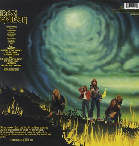 The Number of the Beast - Vinile LP di Iron Maiden - 2