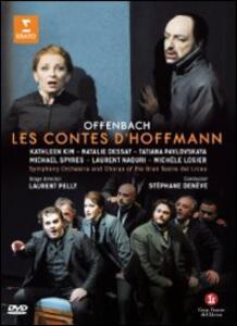 Jacques Offenbach. Les Contes d'Hoffmann. I racconti di Hoffman di Laurent Pelly - DVD