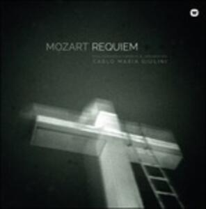 Requiem - Vinile LP di Wolfgang Amadeus Mozart,Carlo Maria Giulini,Christa Ludwig,Philharmonia Orchestra