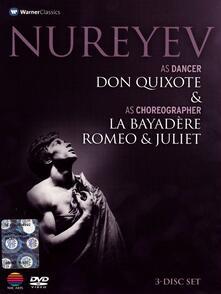 Nureyev As Dancer and As Choreographer (3 DVD) di Robert Helpmann,Rudolf Nureyev