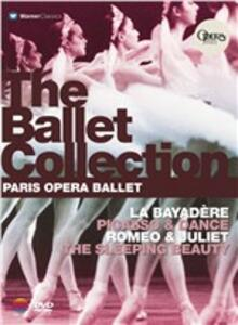 Paris Opera Ballet Collection. Bayadera - Romeo & Juliet - Sleeping Beauty - Pic (4 DVD) - DVD