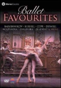 Ballet Favourites. Baryshnikov, Bussell, Cope, Dowell, Kolpakova, Zalinsky - DVD