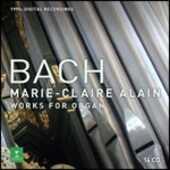 CD Musica per organo completa Johann Sebastian Bach Marie Claire Alain
