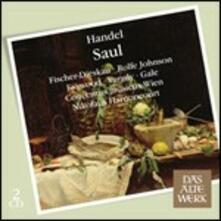 Saul - CD Audio di Nikolaus Harnoncourt,Dietrich Fischer-Dieskau,Anthony Rolfe Johnson,Julia Varady,Georg Friedrich Händel,Concentus Musicus Wien