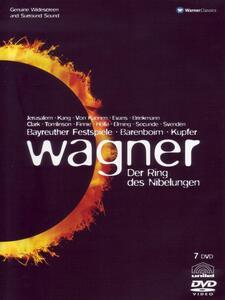 Wagner. Der Ring des Nibelungen (7 DVD) di Horant H. Hohlfeld