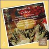 CD L'Orfeo Claudio Monteverdi Nikolaus Harnoncourt