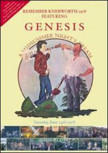 Genesis. A Midsummer Night's Festival.Remember Knebworth 1978 - DVD