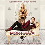 Cover CD Colonna sonora Mortdecai