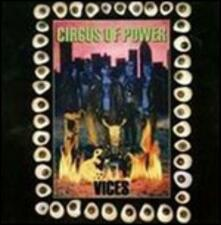 Vices - CD Audio di Circus of Power