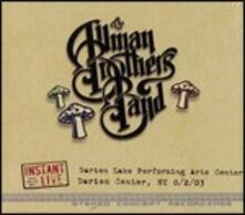 Instant Live. Darien Lake Performing Arts Center Darien Center, NY 2/08/2003 - CD Audio di Allman Brothers Band
