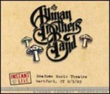 Instant Live. Meadows Music Theatre Hartford, CT 3/08/2003 - CD Audio di Allman Brothers Band