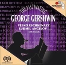 Arrangiamenti per violino e pianoforte - SuperAudio CD ibrido di George Gershwin,Vesko Eschkenazy,Ludmil Angelov